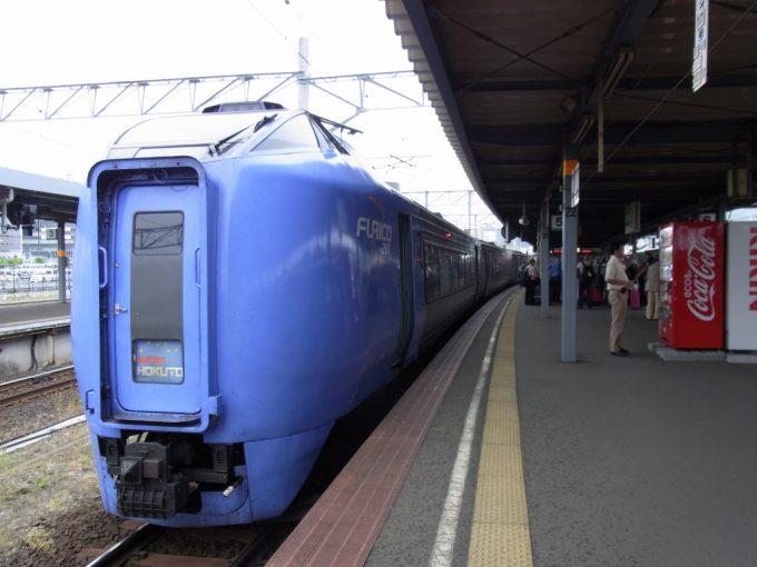 函館駅キハ281系振り子特急スーパー北斗