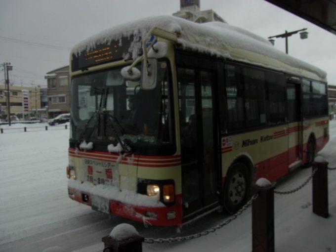 日本交通バスはわい温泉方面橋津線