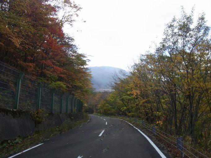 土湯旧道秋の彩