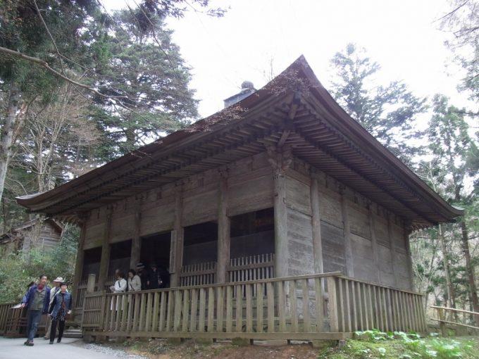平泉中尊寺旧覆堂