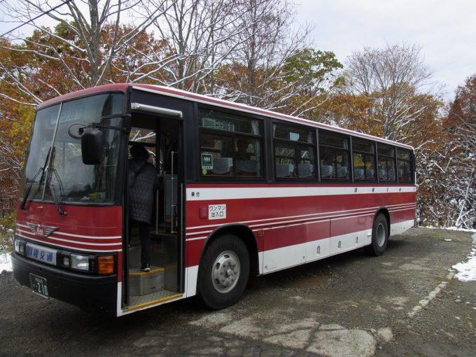 羽後交通バス田沢湖駅行き