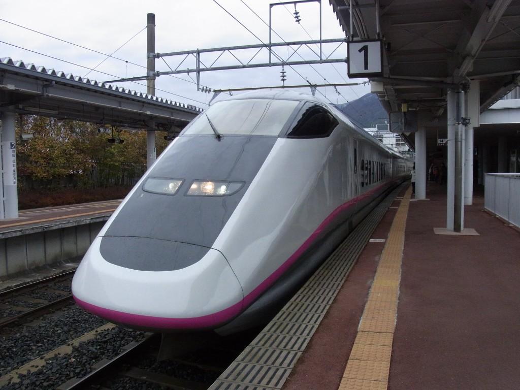 田沢湖より秋田新幹線こまちで角館へ
