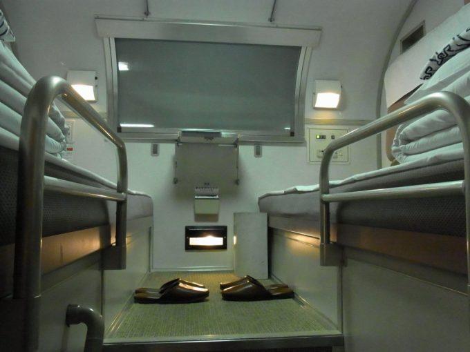 寝台特急北斗星B寝台2人用個室デュエット上段