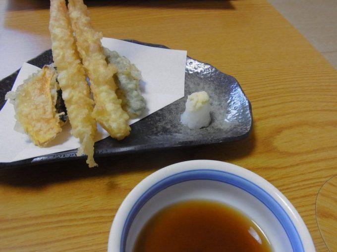 札幌小金湯温泉まつの湯天ぷら