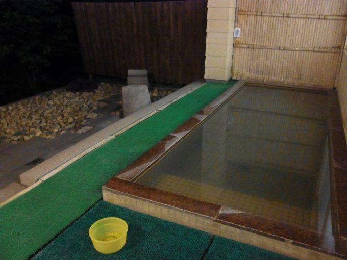 札幌小金湯温泉まつの湯うっすらと濁る単純硫黄泉