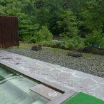 札幌小金湯温泉まつの湯露天風呂