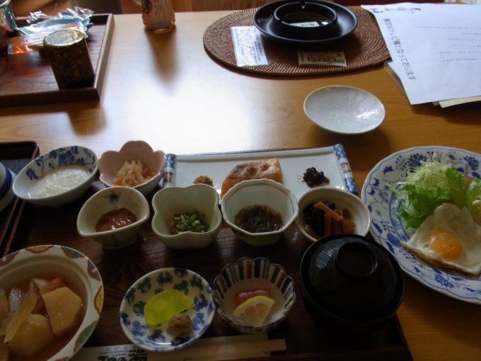 札幌小金湯温泉まつの湯朝食