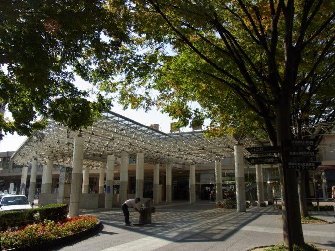 秋の福島駅