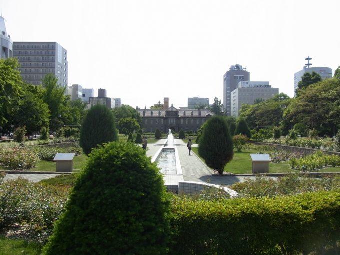 大通公園の終点旧裁判所札幌市資料館