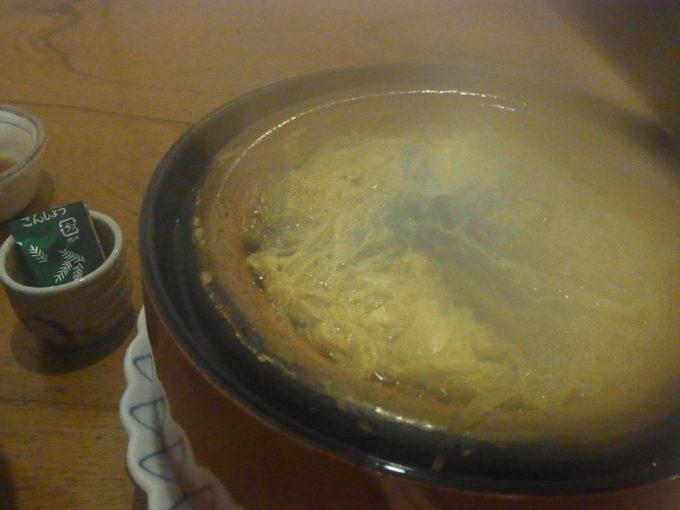 福島駅西口喜多やミニどじょう柳川鍋