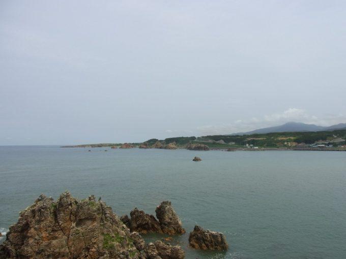 青森深浦夏の青い日本海