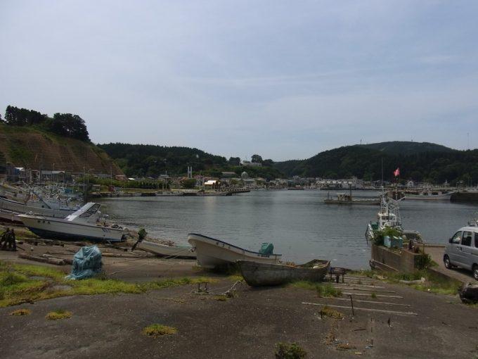 鱈とまぐろで有名な深浦漁港
