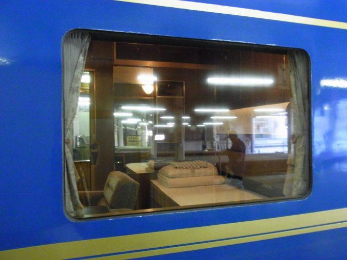 寝台特急北斗星24系25型ひと際大きいロイヤルの窓