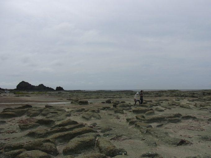岩肌が印象的な千畳敷