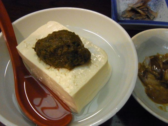弘前創作郷土料理菊富士あつあつばっけ味噌豆腐