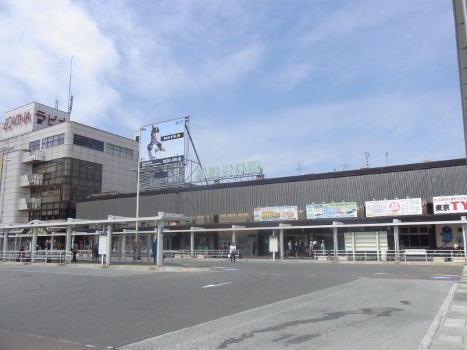 夏空の青森駅