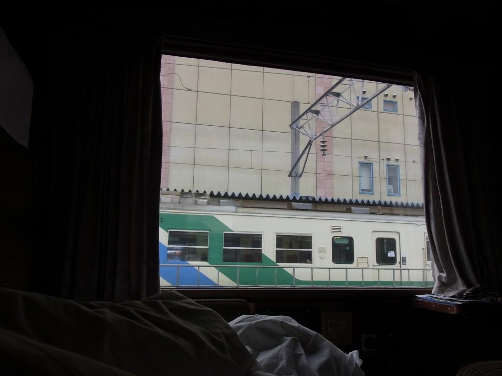 北斗星ロイヤル福島で迎える目覚め