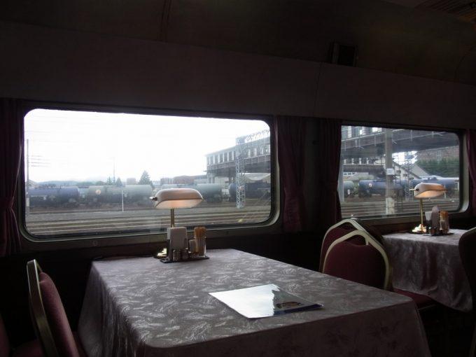 北斗星食堂車グランシャリオの爽やかな朝