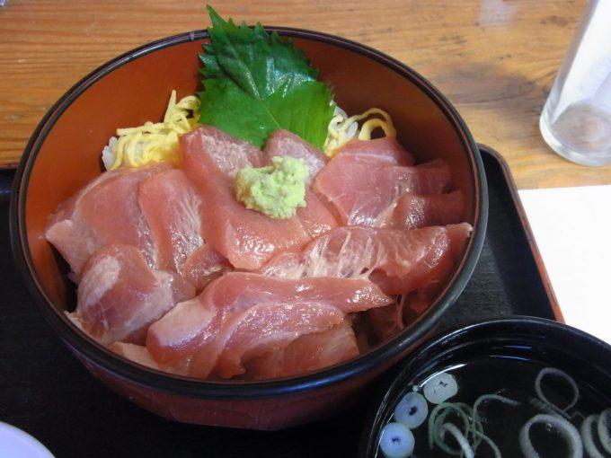 青森魚喰いの田大間の本マグロ丼