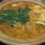 白味噌の甘うま辛キムチ鍋