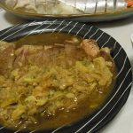 サーロインステーキ下仁田ぽん酢ソース・手羽と里芋のピリ辛味噌煮・加賀れんこんとじゃこの塩きんぴら