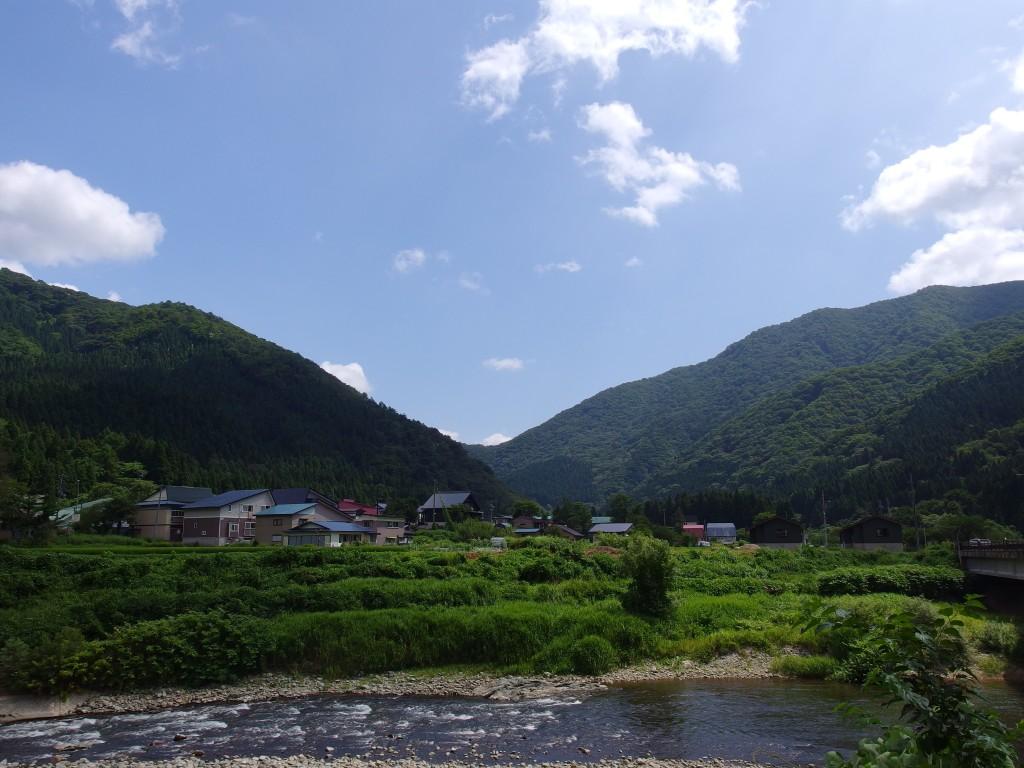 小国川夏景色