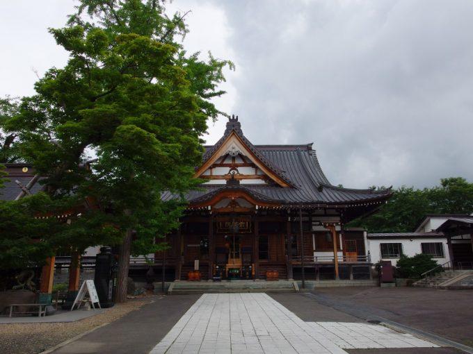弘前金剛山最勝院本堂