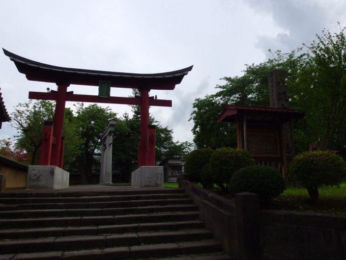 弘前八坂神社鳥居