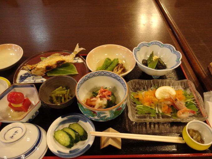 雫石玄武温泉ロッヂたちばな夕食
