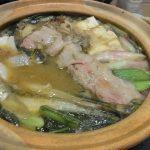 野沢菜味噌豚バラ鍋