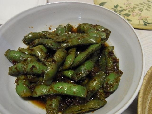枝豆のしょう油煮