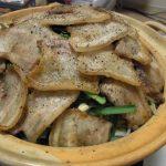豚バラ焼き辛味噌鍋