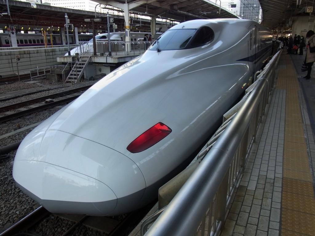 東海道新幹線N700系のぞみ