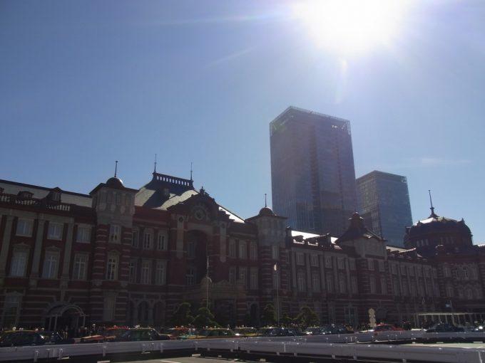 復原された東京駅丸の内レンガ駅舎