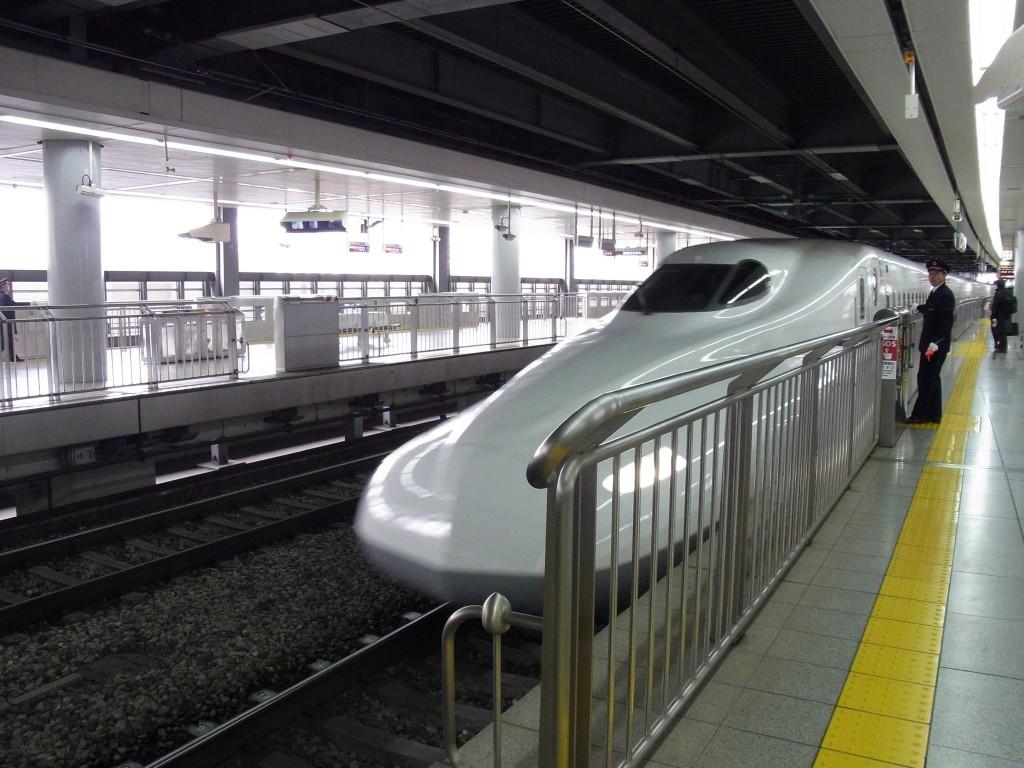 東海道新幹線N700Aのぞみ