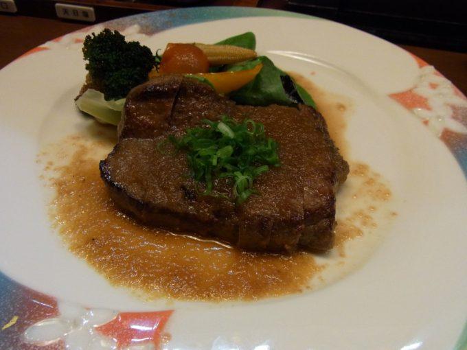熊本馬肉専門店菅乃屋馬ヒレステーキ