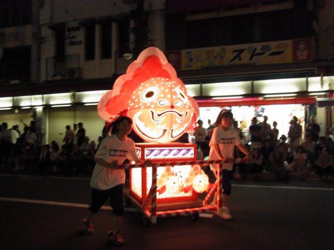 弘前ねぷた大好きな金魚ねぷた