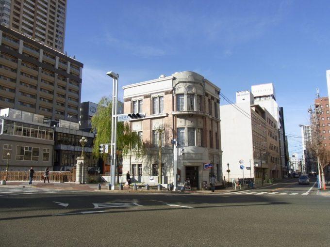 冬晴れの名古屋の街