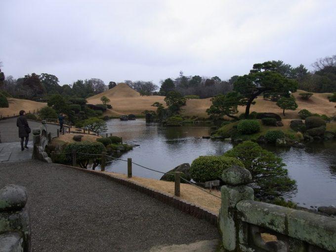 東海道五十三次を模した熊本水前寺公園
