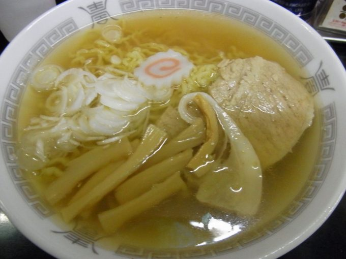 弘前中央食品市場山田商店中華そば