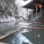 塩原温泉明賀屋本館渓流沿いの秘湯感あふれる混浴露天風呂