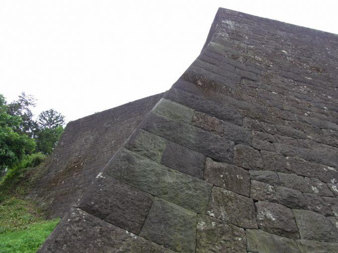 青葉城の美しい石垣