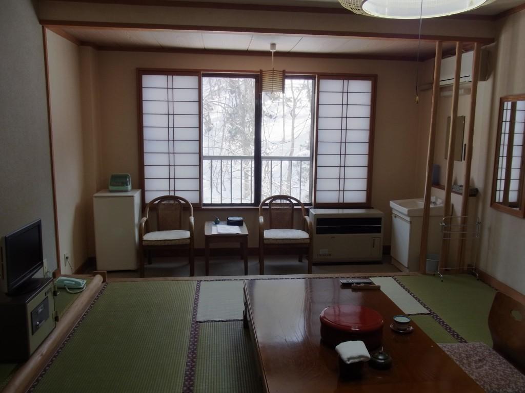 二岐温泉柏屋旅館客室
