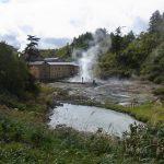 後生掛温泉と噴煙地
