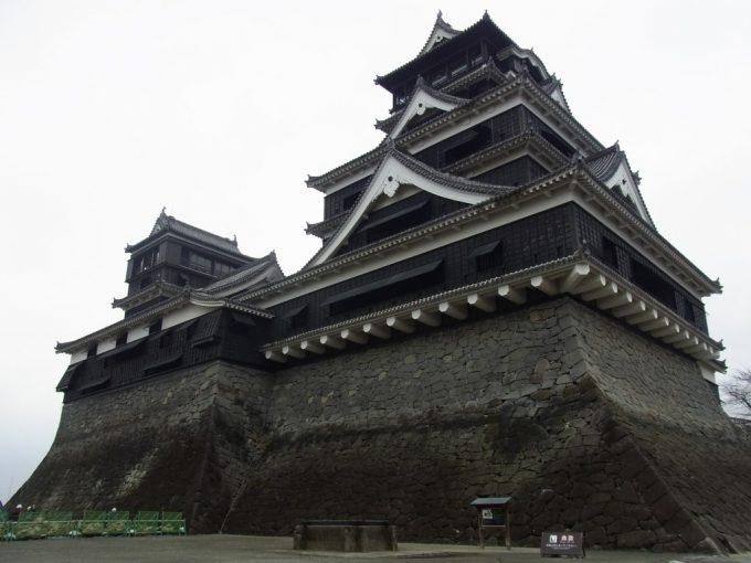 かっこいい熊本城
