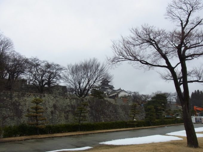 白河小峰城立派な石垣