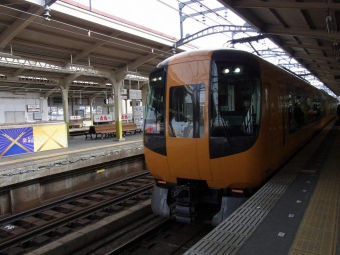 近鉄特急22600系Ace大阪難波行き宇治山田駅入線