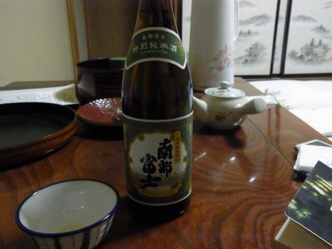 秘湯夏油温泉元湯夏油夜のお供に南部富士