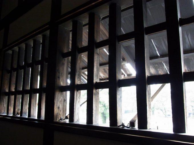 熊本城宇土櫓重厚な木戸