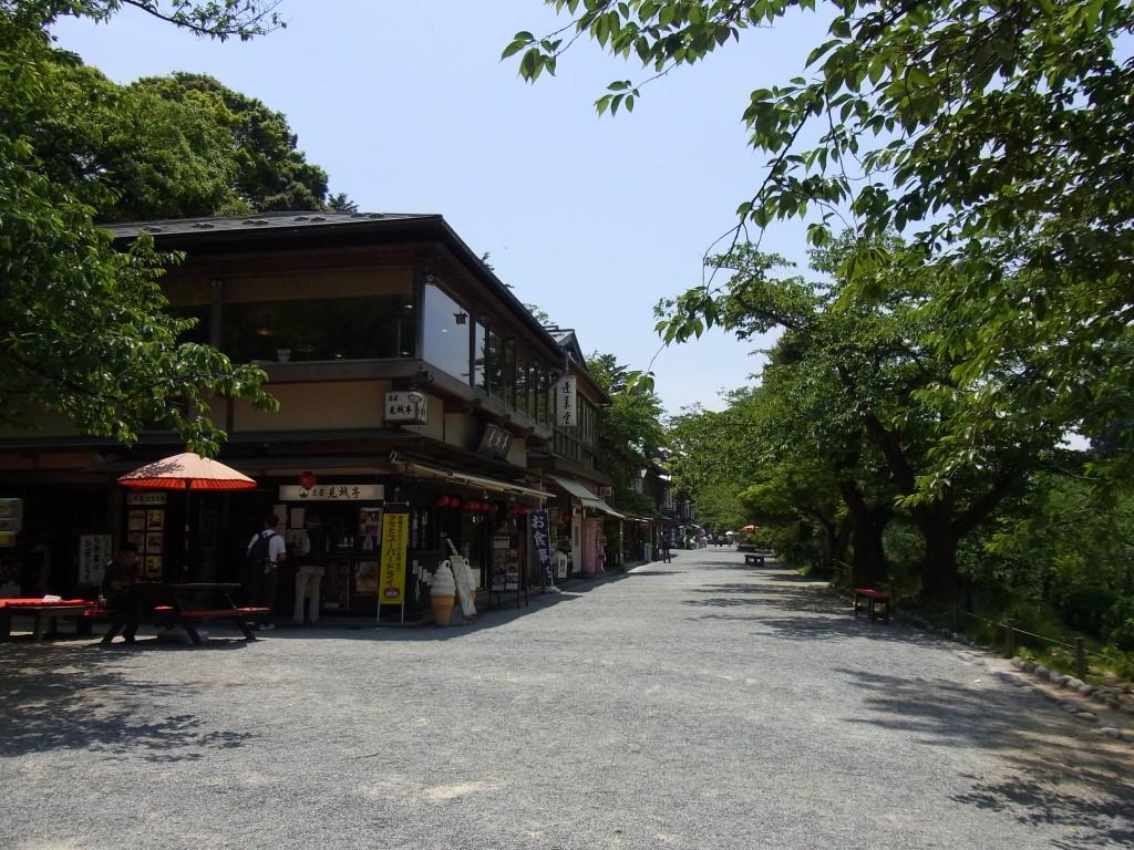 金沢兼六園そば石川門前見城亭